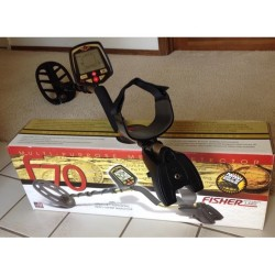 Fisher F70 DD Metal Detector